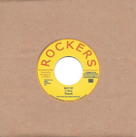 Tetrack - Rap Up / Pablo Levi & Clevie - Three In One (Rockers / Onlyroots) 7""